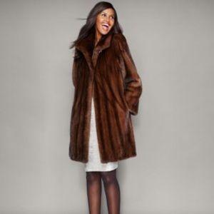 Macy's Fur Vault Brown Mink